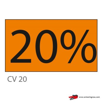 Cartello CV 20