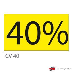 Cartello CV 40
