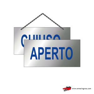 Cartelli Aperto-Chiuso OR 701/A