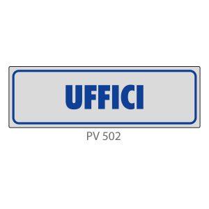 Indicatore Adesivo PV 502 | Uffici