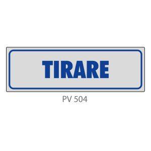 Indicatore Adesivo PV 504 | Tirare