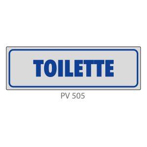 Indicatore Adesivo PV 505 | Toilette