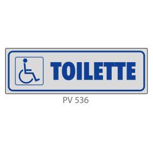 Indicatore Adesivo PV 536 | Toilette Disabili