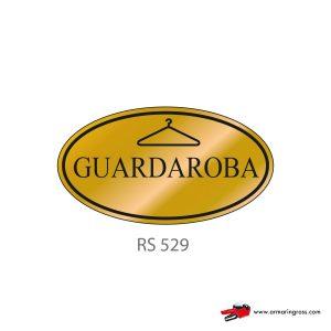 Etichetta Resinata RS 529 | Guardaroba