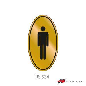 Etichetta Resinata RS 534 | Toilette Uomo