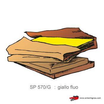 Risma Carta Colorata giallo fluo
