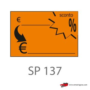 Segnaprezzi mini - Rettangolo Euro