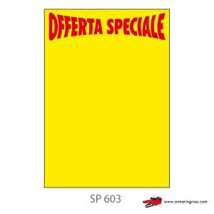 Segnaprezzi grandi stampati - Offerta Speciale