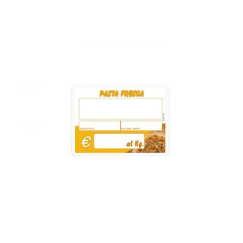 Segnaprezzi Pasta Fresca Mod. 165