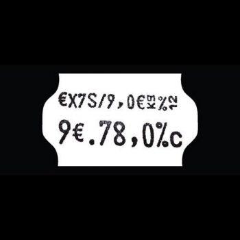 Etichette Prezzatrice
