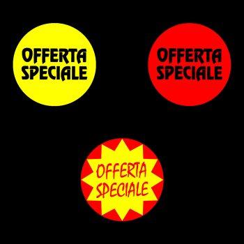 Rotoli Etichette Bollino 40 Offerta Speciale