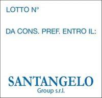 Lotto N° - Da Cons. Pref. Entro IIl: