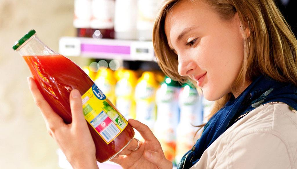 Norme etichette alimentari e menu