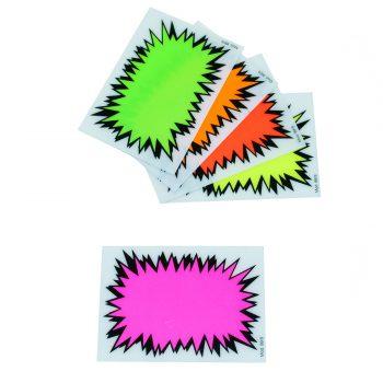 Segnaprezzi Fluorescenti Esplosione