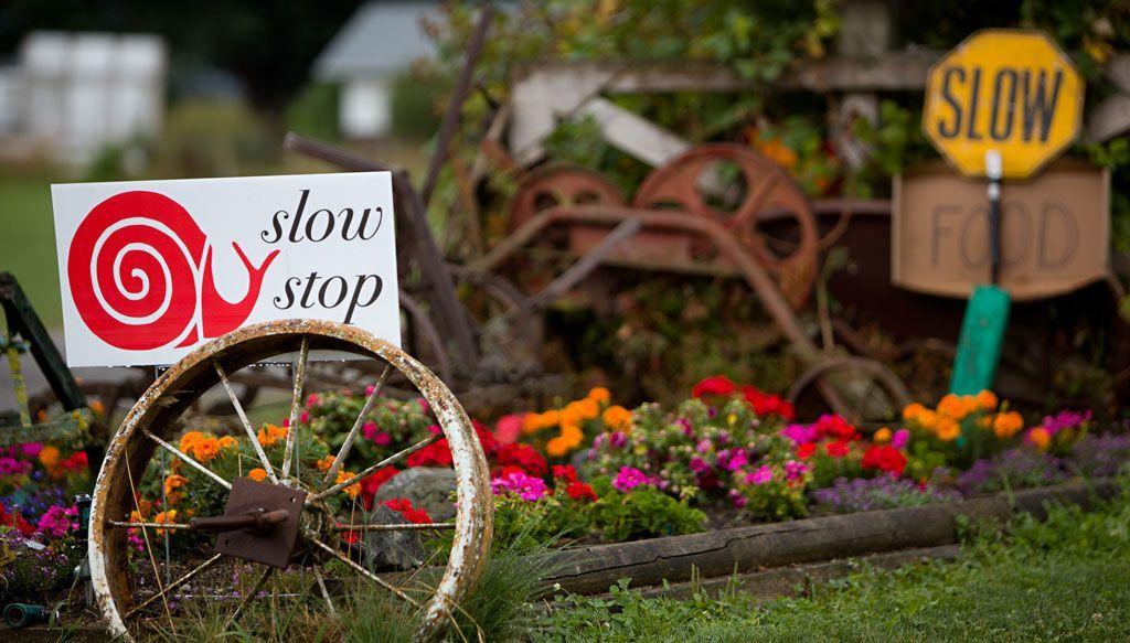 Slow Food: mangiare lentamente