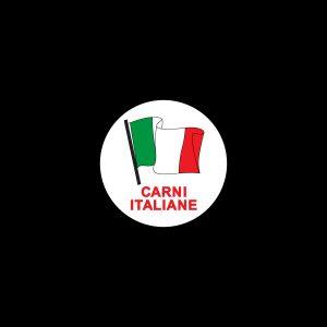 Rotoli Etichette Bollino 35 Carni Italiane