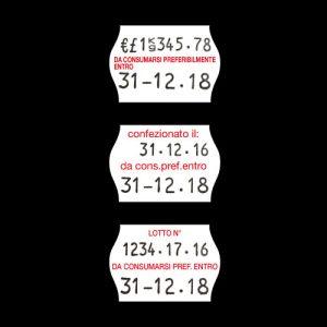 Etichette Prezzatrici 26x18 mm