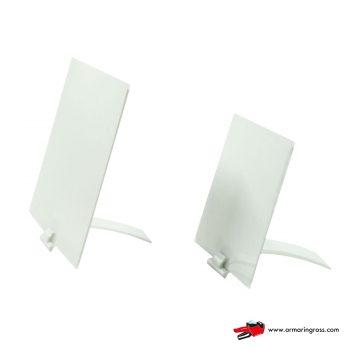Lavagnette Bianche PVC con Base Brevettata Bianca