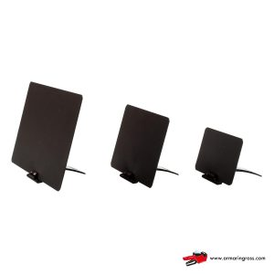 Lavagnette Nere PVC con Base Brevettata Nera