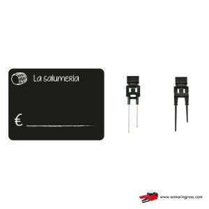 Lavagnette Nere PVC Salumeria con Accessorio | Lavagnette riscrivibili