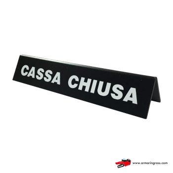 Barra Cassa Chiusa | Barra informativa per la cassa del supermercato
