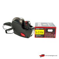 Kit Prezzatrice Meteor R1-8 + Rotoli Etichette Scadenza