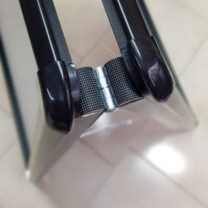 Cavalletto Bifacciale in Alluminio Nero
