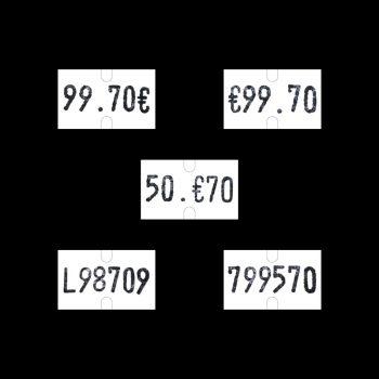 Etichette PrezzatriceSato PB1