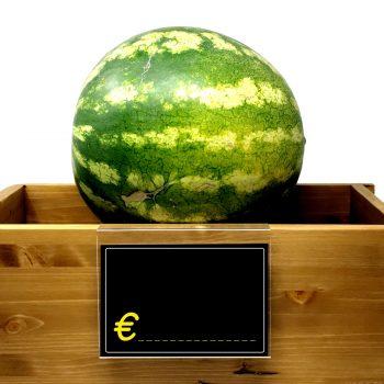 Segnaprezzi Neri Simbolo Euro con Espositore da Appendere